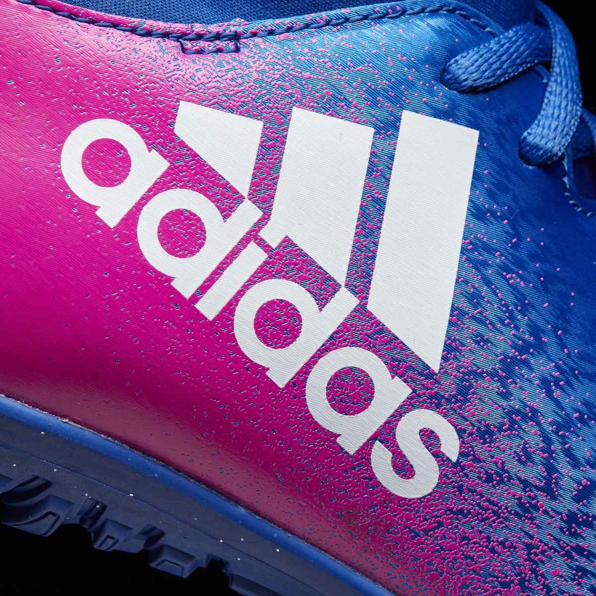 huge discount bc3b9 0974c botines adidas x 16.3 tf cesped artificial azul c fucsia. Cargando zoom.