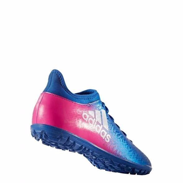 best service 220a4 ac0d6 botines adidas x 16.3 tf cesped artificial azul c fucsia