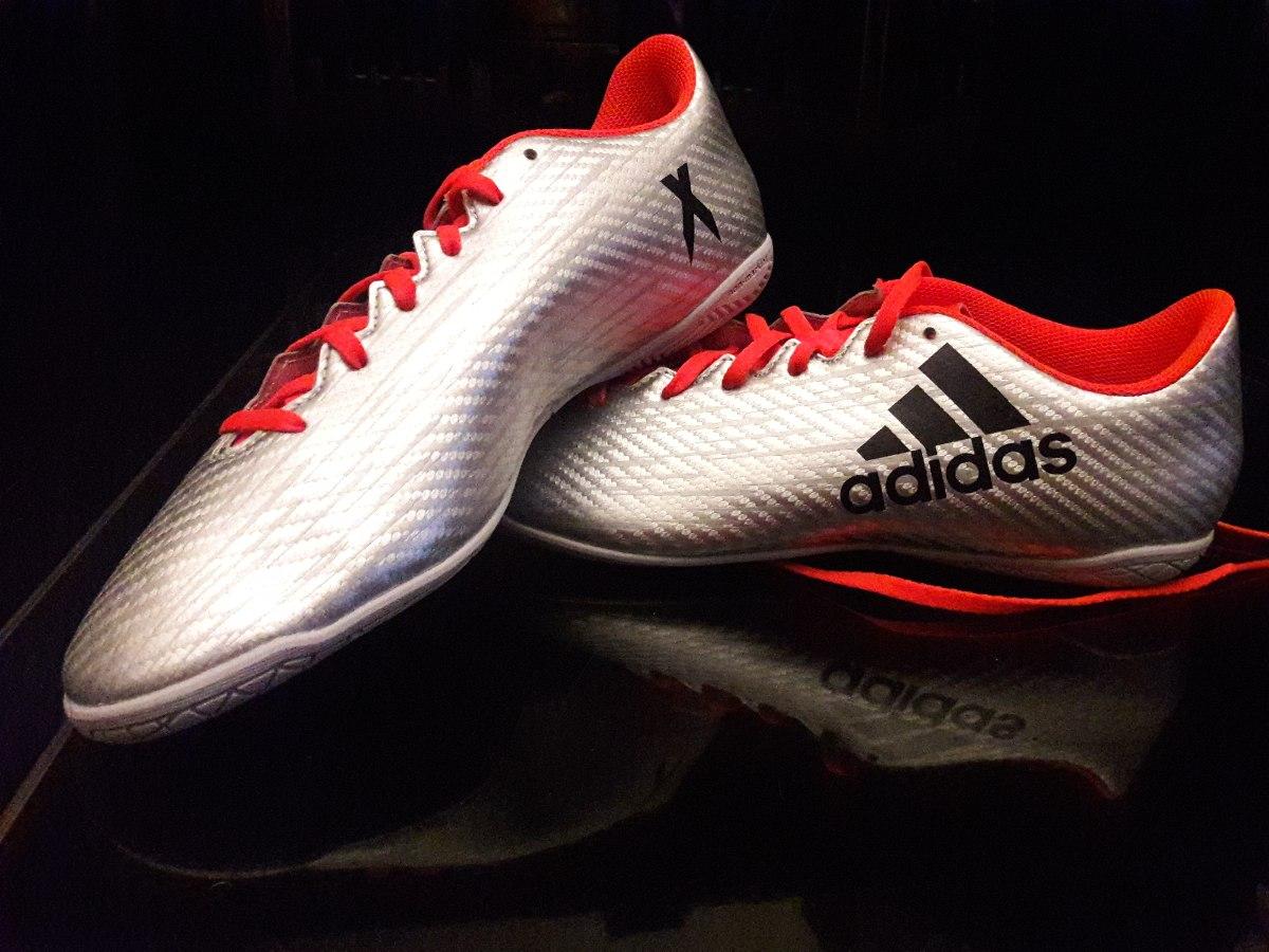 ec21572218a Botines adidas X16.4 In Futsal Futbol Sala 9.5 Us -   1.950