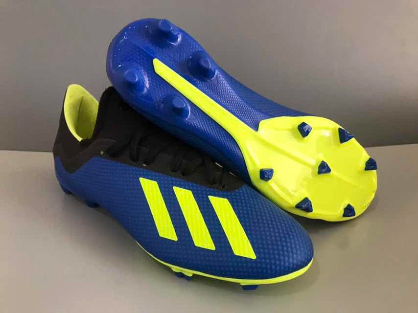 innovative design 9e1a0 e46ac Botines adidas X18.3 Azul