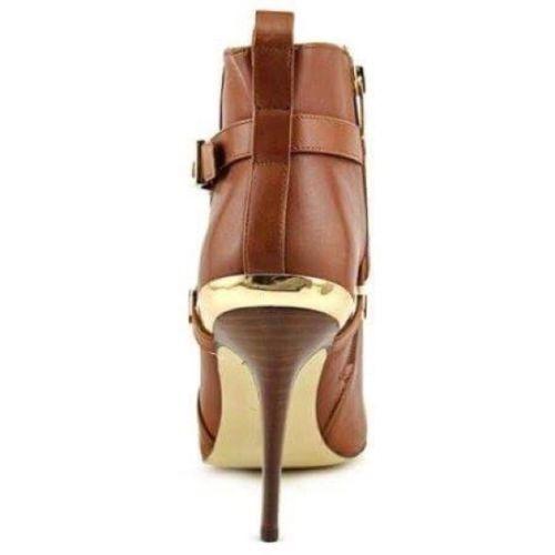 botines altos marc fisher cuero natural color piel #40 nuevo