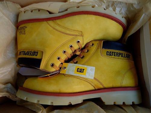 botines  botas punta de acero caterpillar