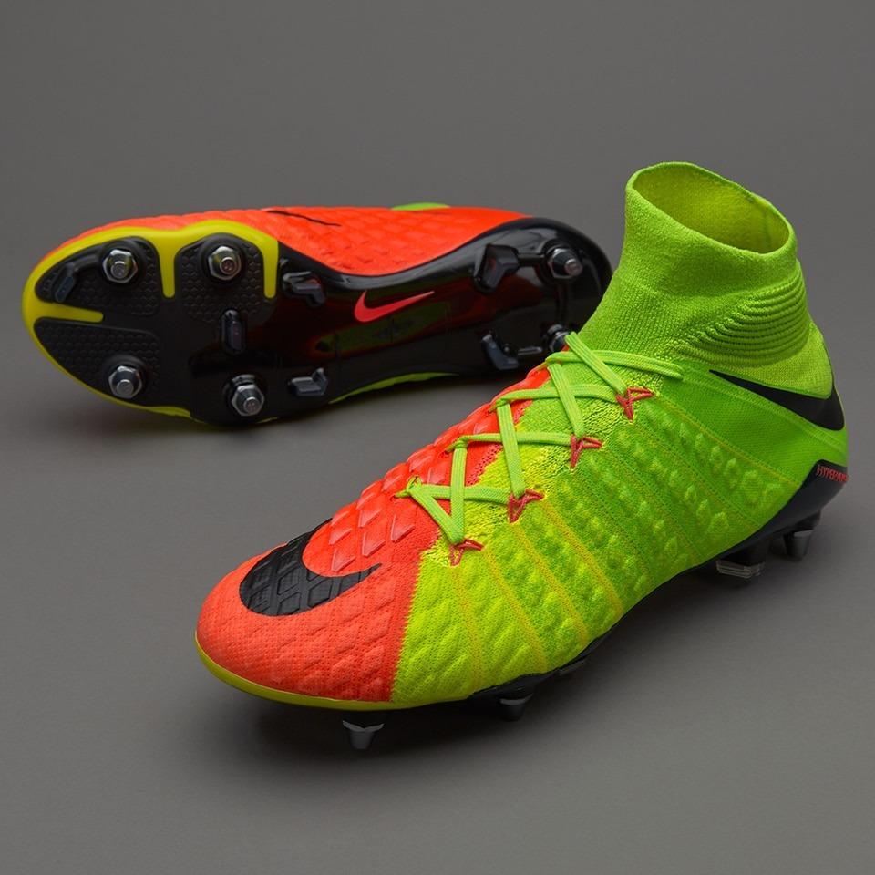the latest c2380 ac8ad Botines Botita Nike Hypervenom Phantom 3 Df Sg Pro Mixta