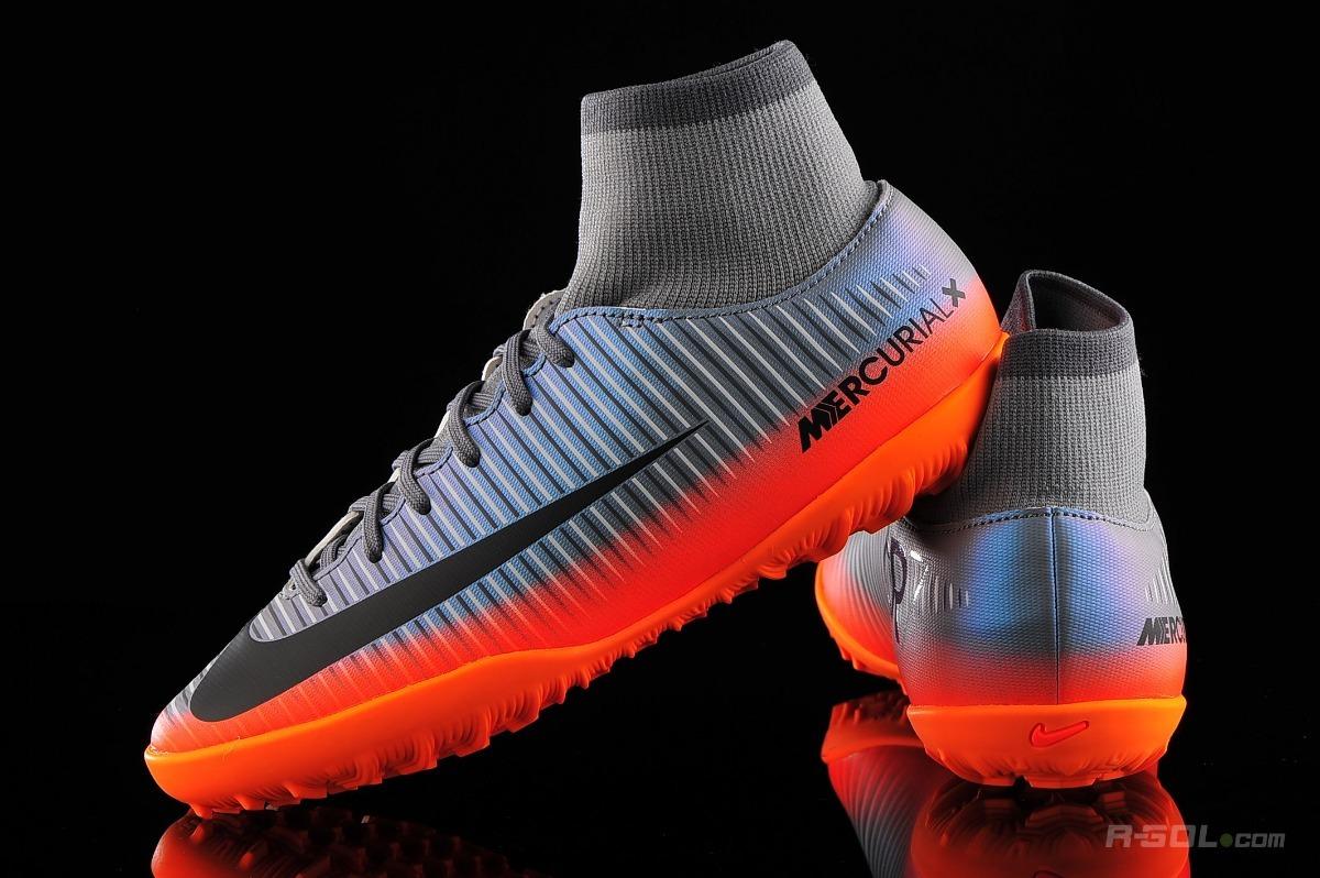... promo code for botines botita nike mercurial cr7 gris papi fútbol  niños. cargando zoom. 3be95987b6597
