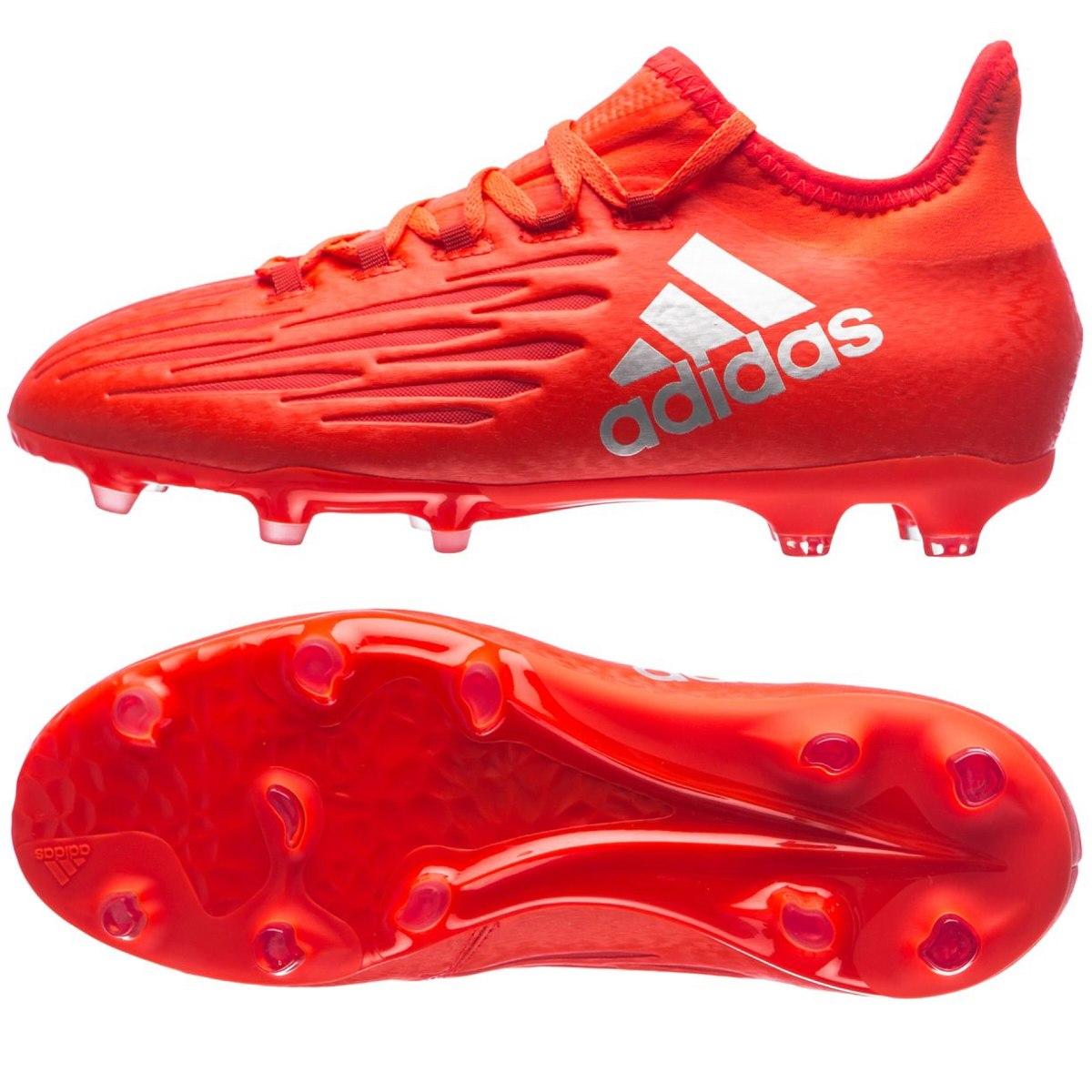 ... botines botitas adidas ace x 16.1 fg alta gama rojo original. cargando  zoom. bdea234c066e7