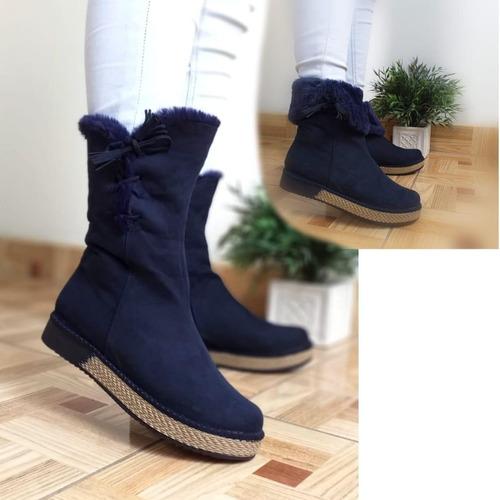 botines-calzados para damas en invierno