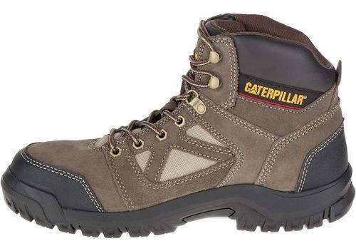 botines caterpillar industrial punta acero p90804 plan gris