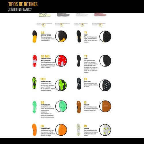 botines con tapones adidas predator 19.2 fg hombre pl/ng