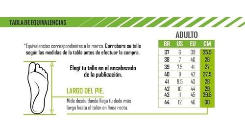 botines de adulto con tapones penalty brasil 70 r1