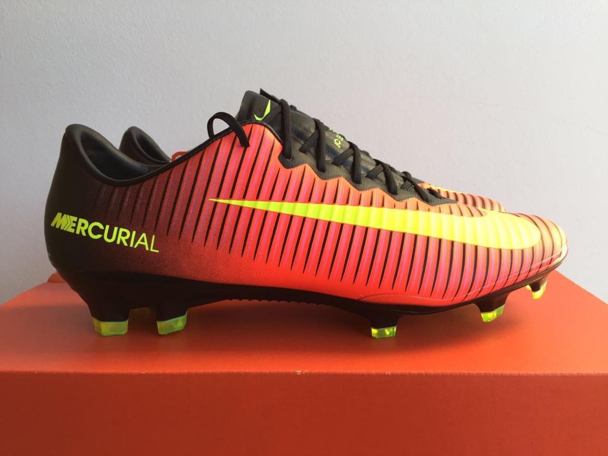 10aae6b06b561 Botines De Fútbol Profesionales Nike Mercurial Vapor -   4.800