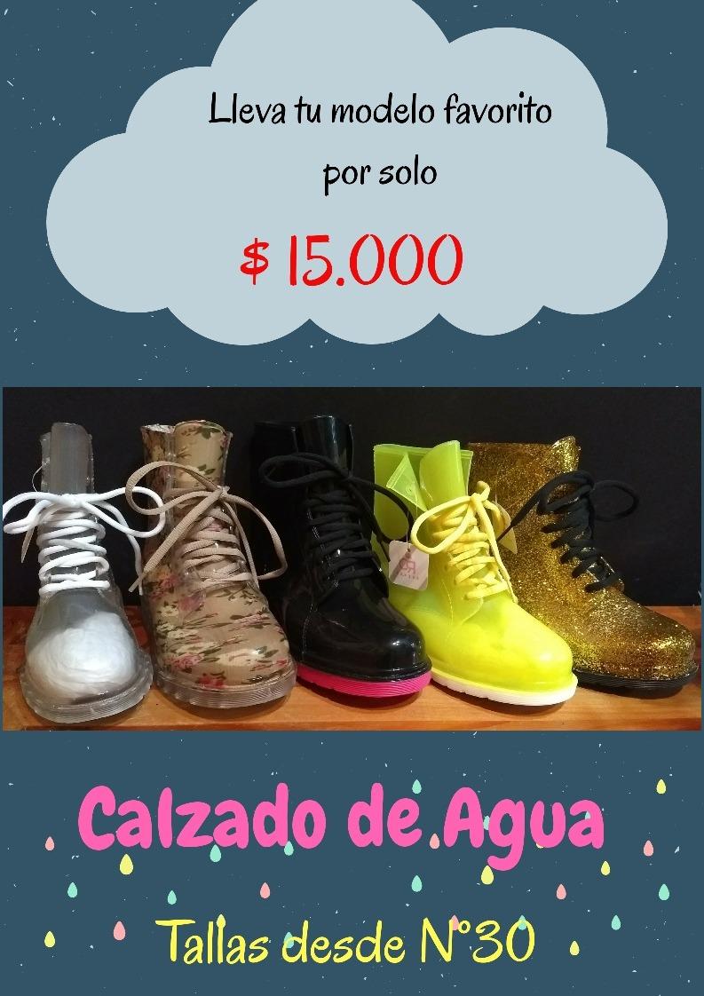 2af8bd0a92b26 Botines De Goma Para La Lluvia. -   15.000 en Mercado Libre