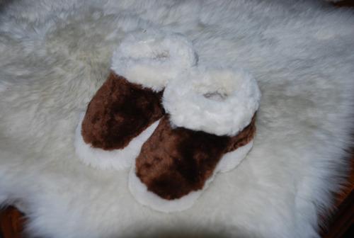 botines de ovejas para bebes