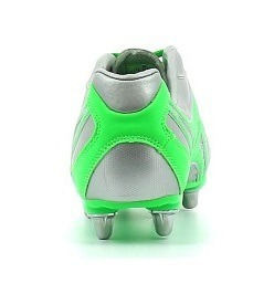 botines de rugby gilbert sidestep 8 stud chrome - sporting