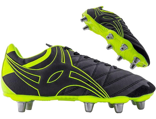 botines de rugby step x9 lo 8 tapones gilbert