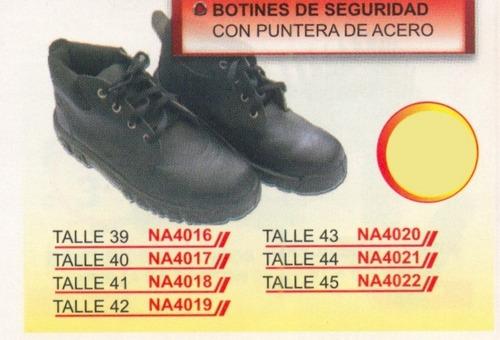 botines de seguridad punta de acero t45 power na4022