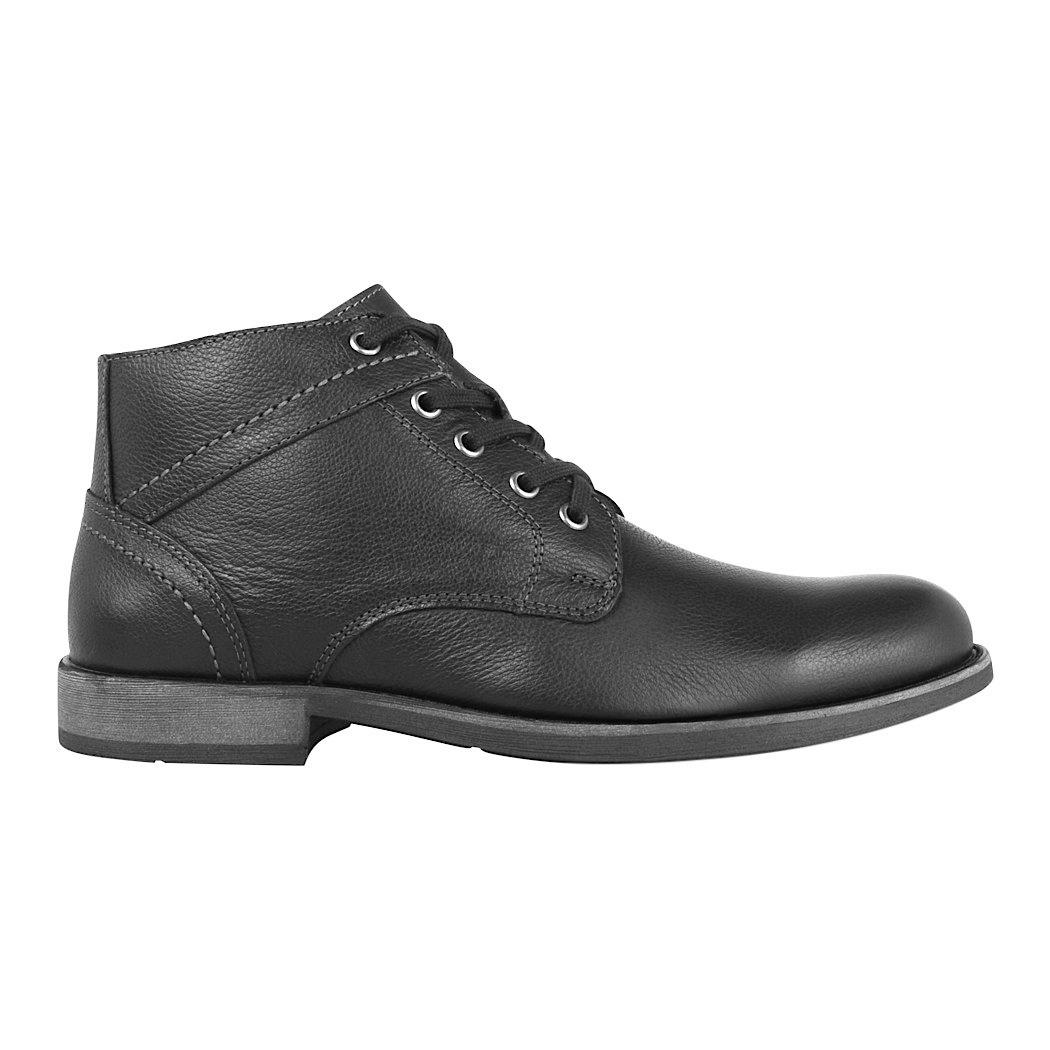 9be2bf67 Botines De Vestir Flexi Para Hombre Piel Negro 96404 - $ 899.00 en ...