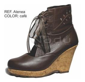 zapatos de separación 82285 f934f Botines En Cuero, Tacon Corrido En Promocion, Ultimo Invent