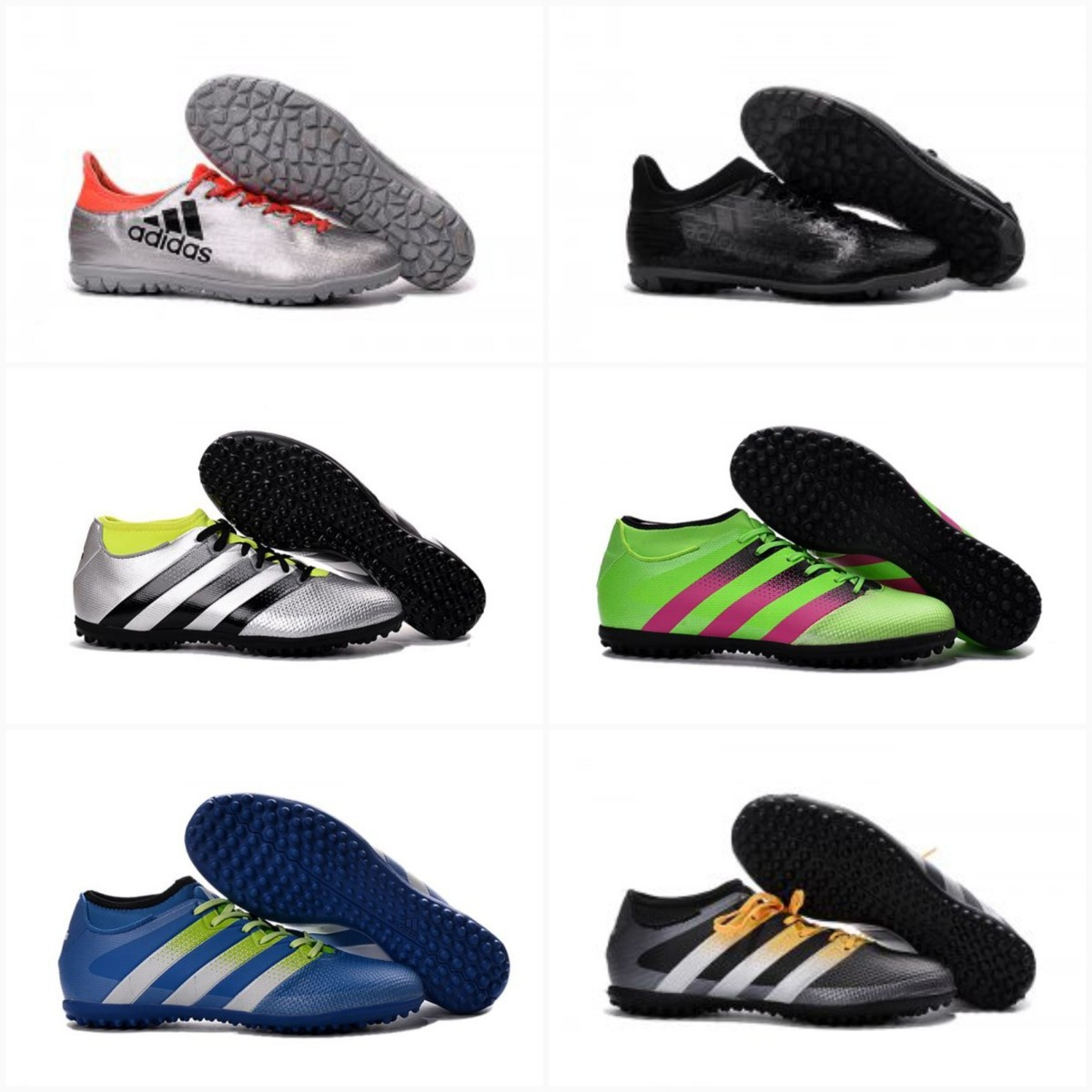 dc79b239fd06a botines futbol 5 nike adidas - talle 44. Cargando zoom.