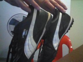 80f19127 Botines Puma Mixtos - Botines Futsal para Adultos en Mercado Libre ...