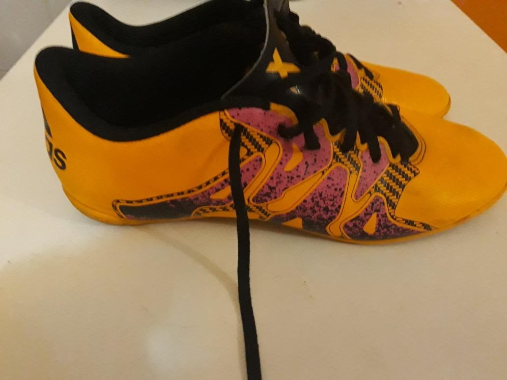 9424a32f3cb botines futsal adidas x 15.4 talle 9us. traídos de australia. Cargando zoom.