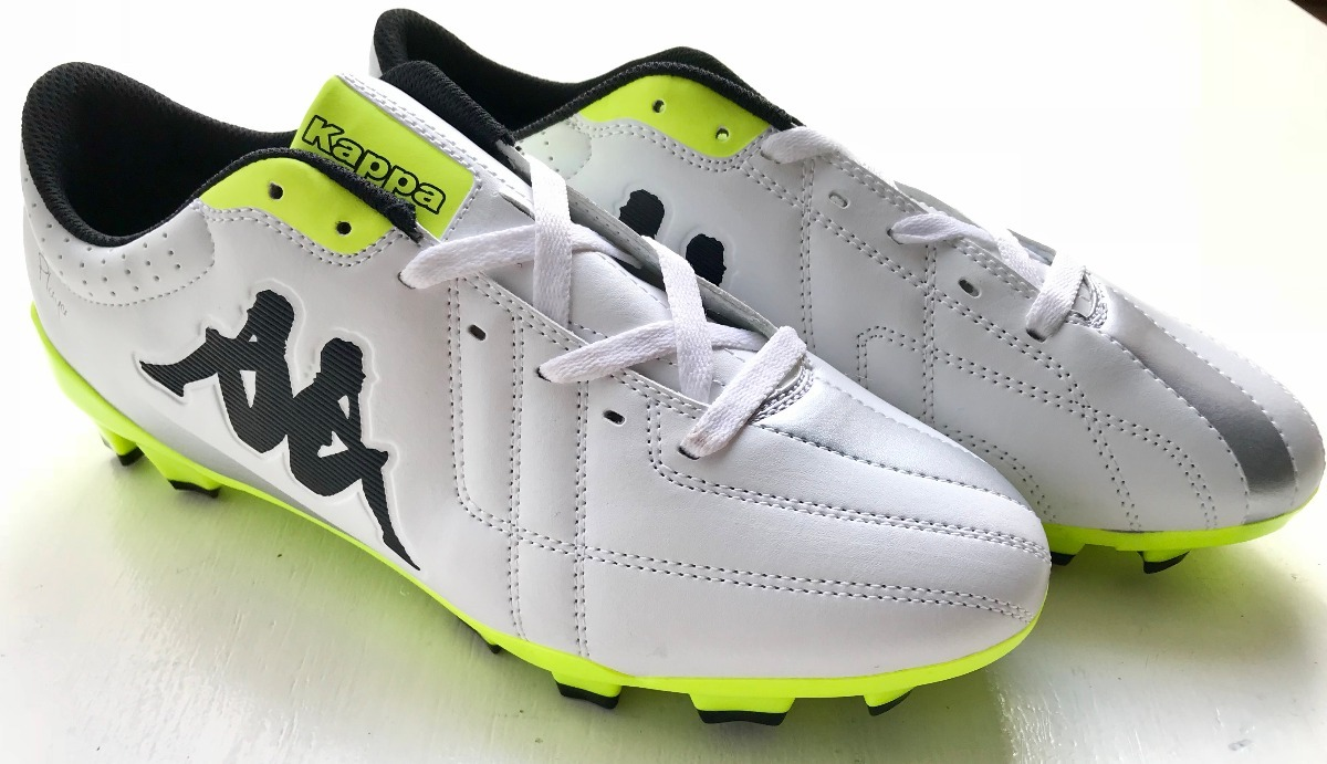 473d0166a6d28 botines kappa soccer player base fg fútbol 11 tapones yellow. Cargando zoom.