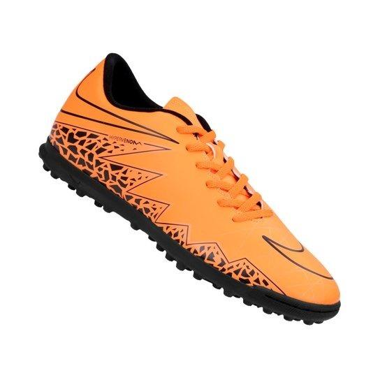 uk availability acd1c 31e75 ... top quality botines nike hypervenom phade ii tf naranja negro papi  adult ee59c fc845
