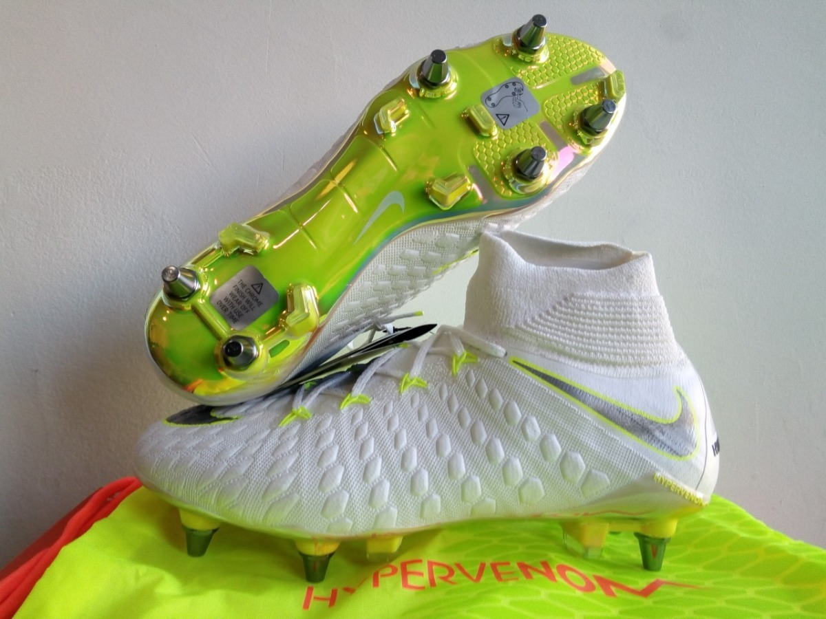 huge discount ae353 432ec Botines Nike Hypervenom Phantom 3 Elite Df Sg Profesionales