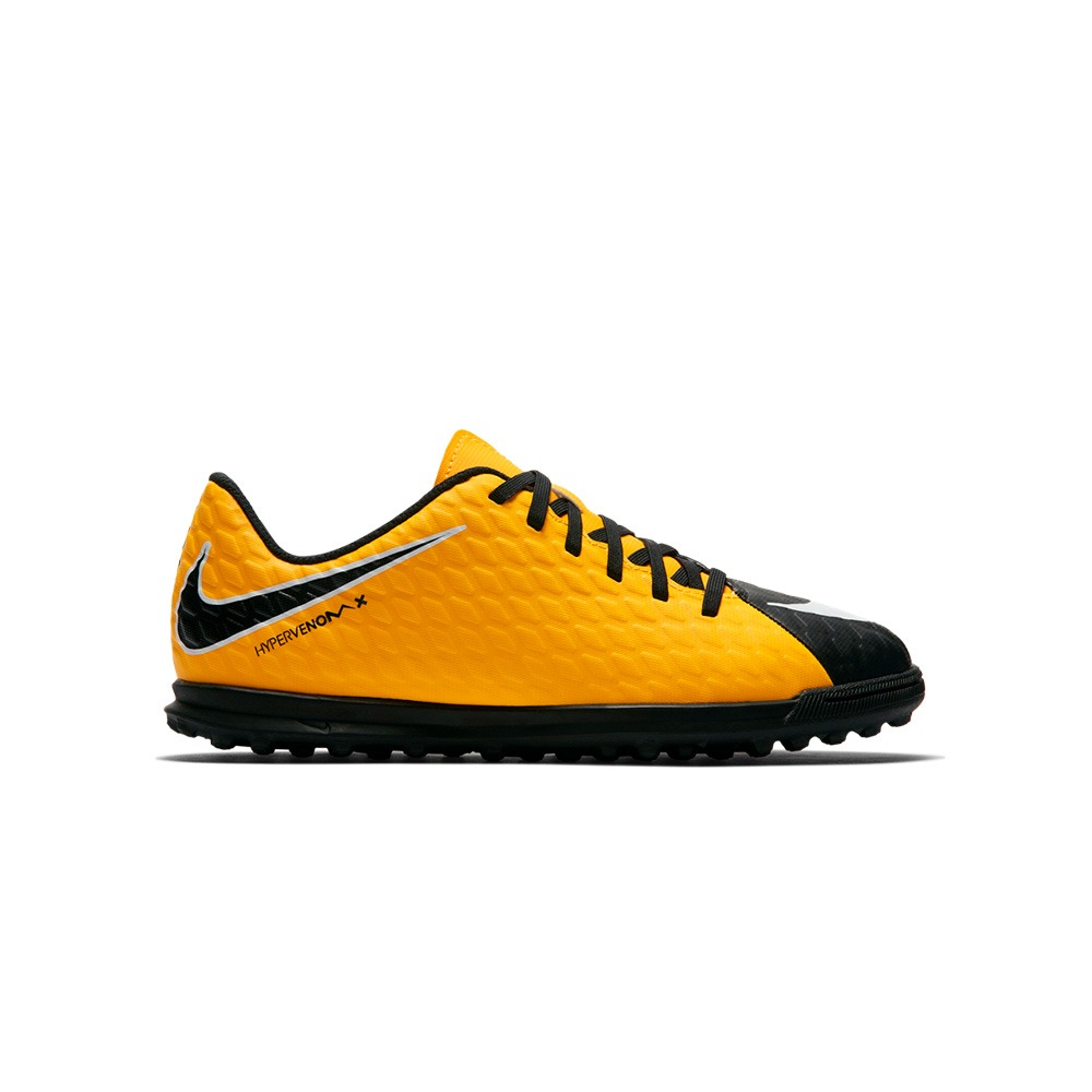 Botines Nike Hypervenomx Phade Iii Tf Niño dx