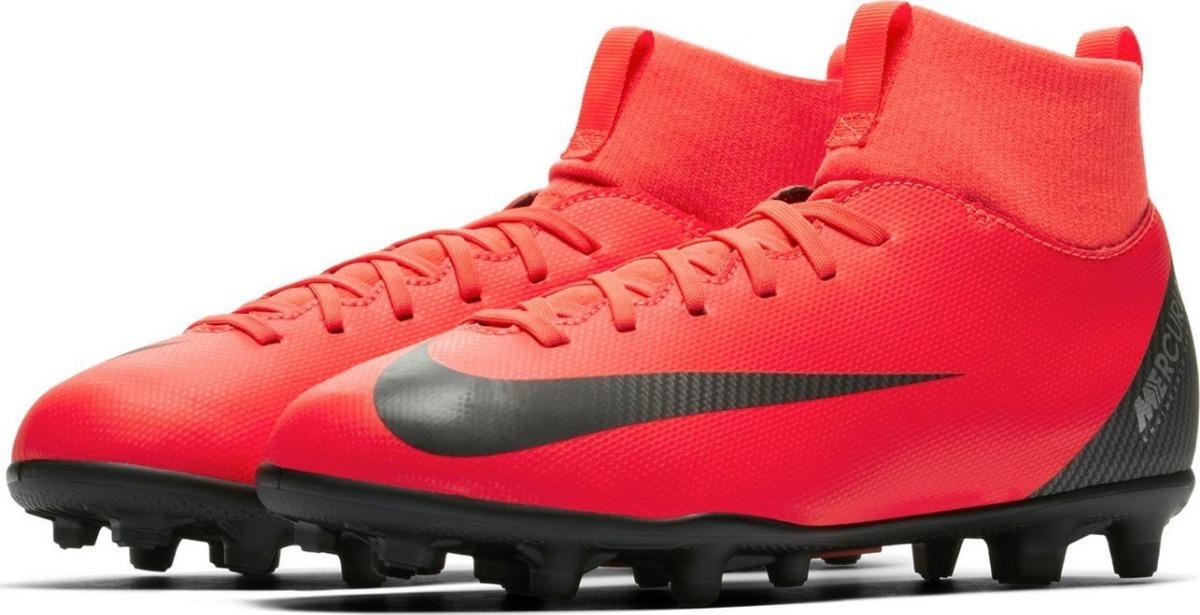 free shipping b420c eb09a Botines Nike Jr Nike Mercurial Superfly Vi Club Cr7 Chicos
