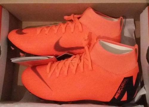 Botines Nike Mercurial Botita Niños Adultos Naranja Y Otros ... 6bd173eb00edd