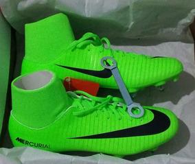 394ff9cf55 Botines Botitas Amarillo Verde - Botines Nike Césped natural para Adultos  en Mercado Libre Argentina