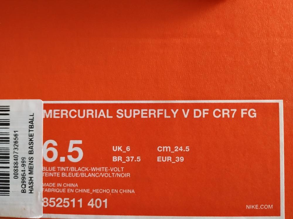 brand new 0aee0 253f2 botines nike mercurial cr7 varios talles. Cargando zoom.