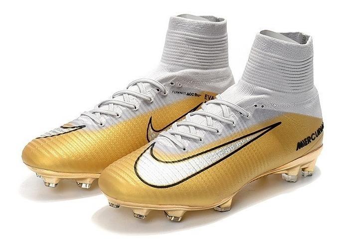 100% high quality popular brand good Botines Nike Mercurial Superfly Cr7 Quinto Triunfo Fg39-45