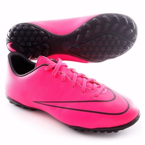 Botines Nike Mercurial Victory V Tf Color Rosados -   1.599 a1e927f57c7d6