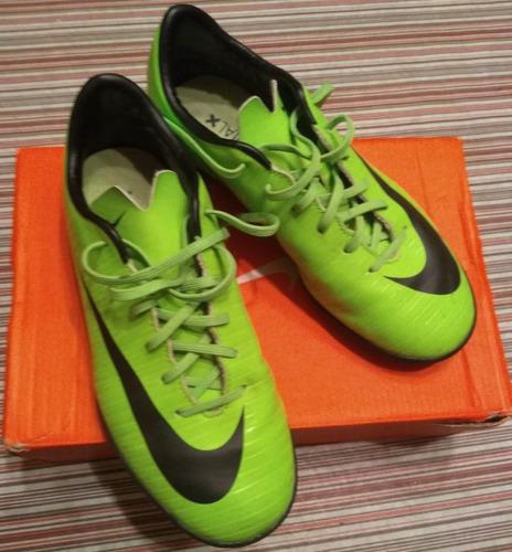 botines nike mercurial x superfly papi fútbol (verdes)