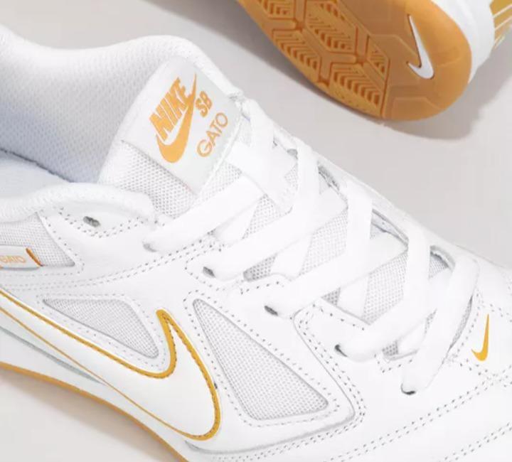 Botines Nike Sb Gato Blanco Skate Botin Futsal Zapatillas