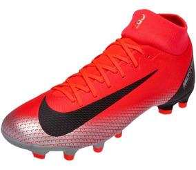 bbd226af687 Botines Nike Mercurial Negros Cuero - Botines Nike para Adultos en ...