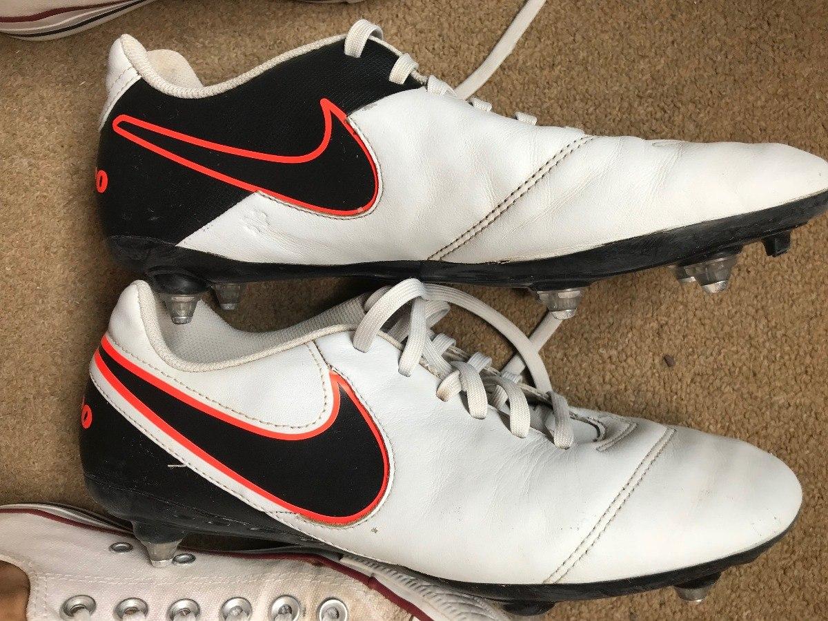 Botines Nike Tiempo Con Tapones De Acero 37-38 -   1.300 2ea6b16d08