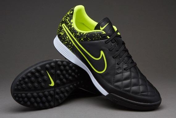 ed8864dbcf0fc Botines Nike Tiempo Genio Leather Tf Volt Talle 46 -   1.690