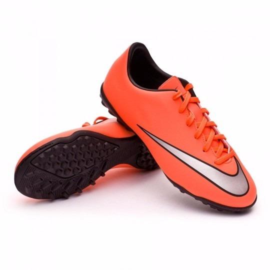 41c119d1eac81 Botines Papi Futbol Nike Mercurial Victory V Tf Niños Chicos ...