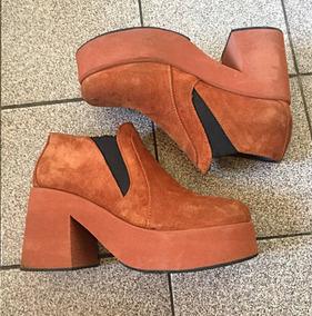 ddb3052e Botas De Plataforma Gamuza Talle Ropa Accesorios Mujer - Calzados para Mujer  en Mercado Libre Uruguay