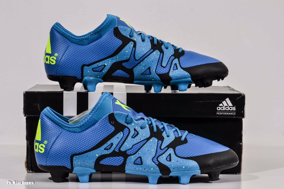 x15 adidas azul