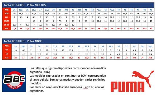 387f4005b Botines Puma Classico Ifg Con Tapones Blanco C negro -   1.604