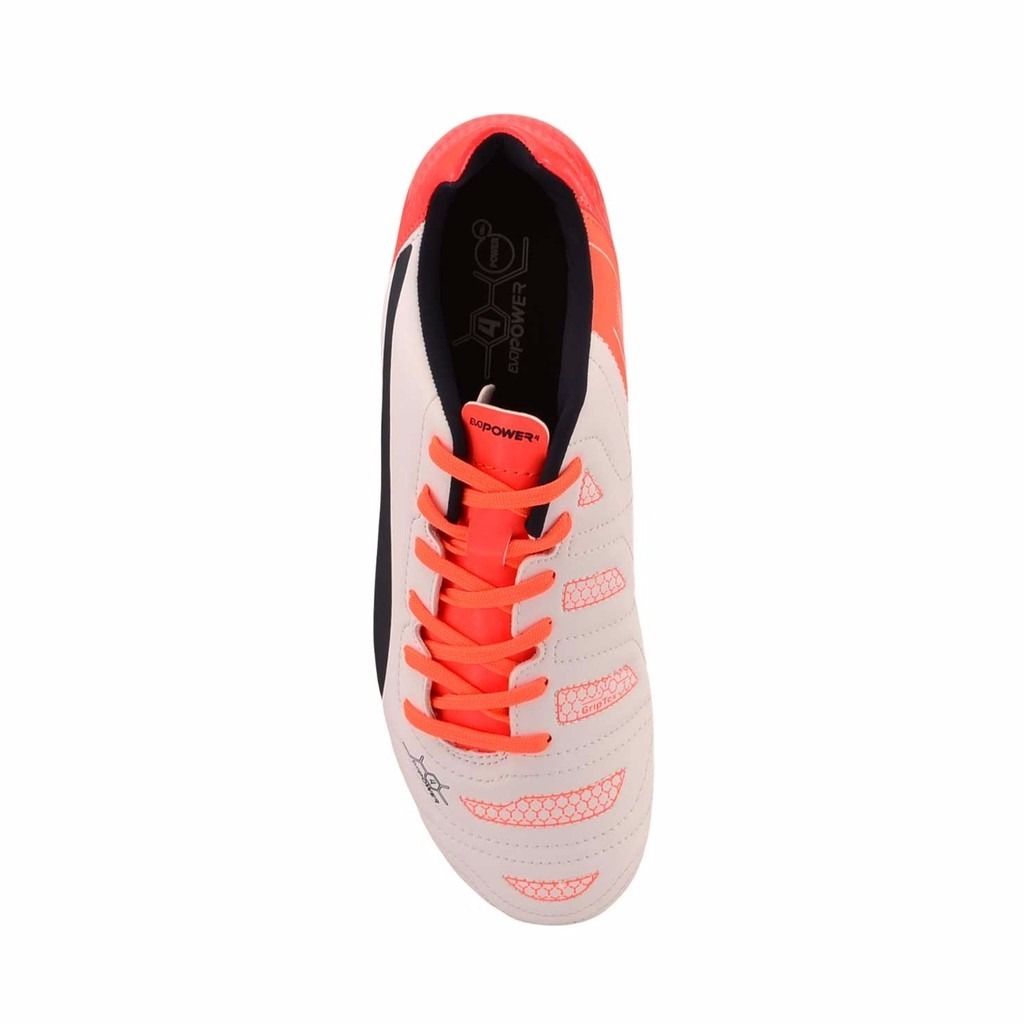 e7a2ee7d1 botines puma evopower 4.2 ag dp tapones blanco c naranja. Cargando zoom.