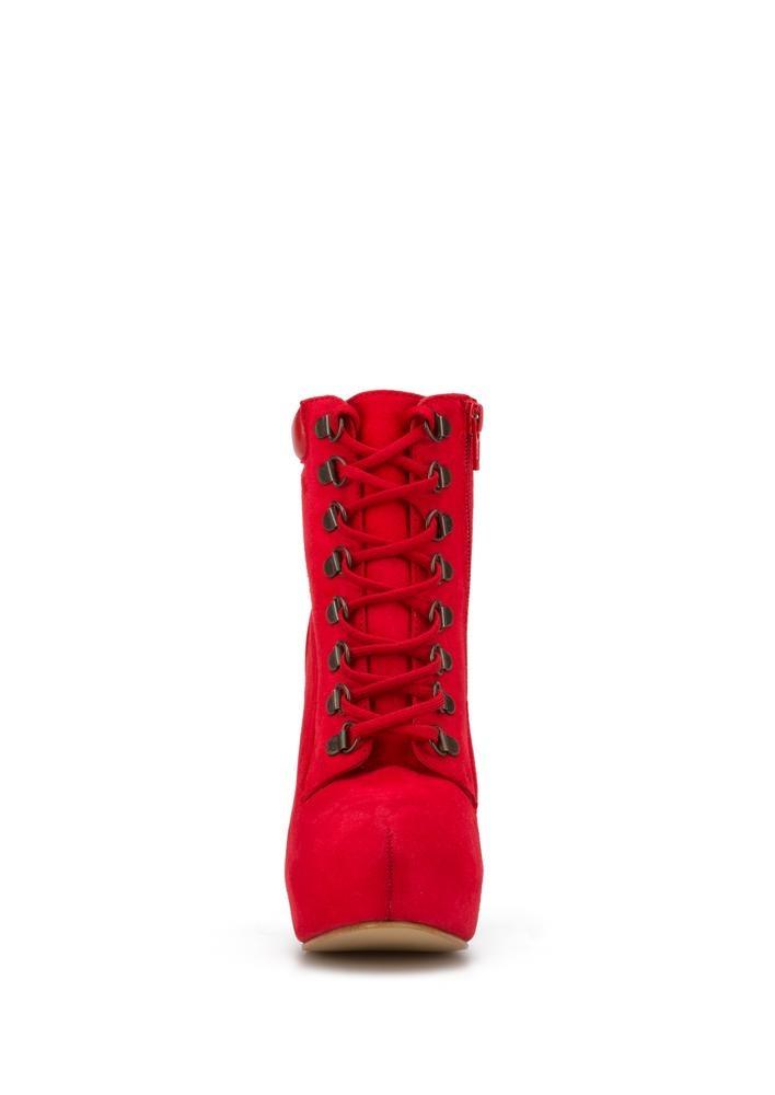 el precio más bajo gran descuento comprar en linea Botines Rojos Tacón Mujer Andrea 2438023 - $ 1,009.90 en Mercado Libre