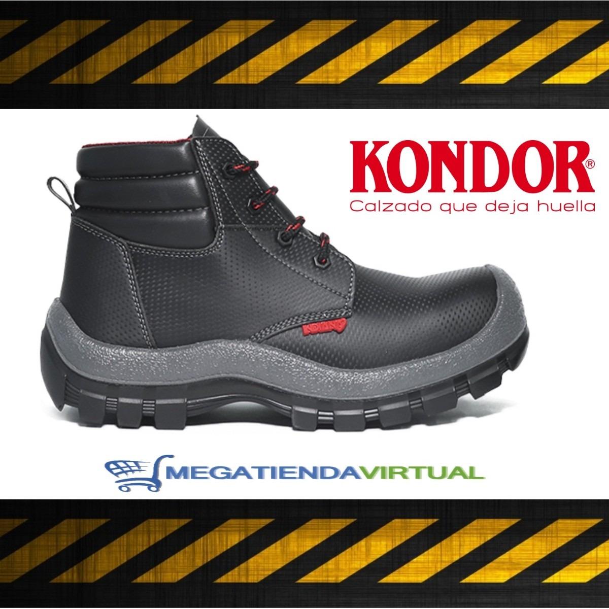mejor sitio web 22ead 24edb Botines Seguridad Industrial Kondor Indiana Jumbo Negro
