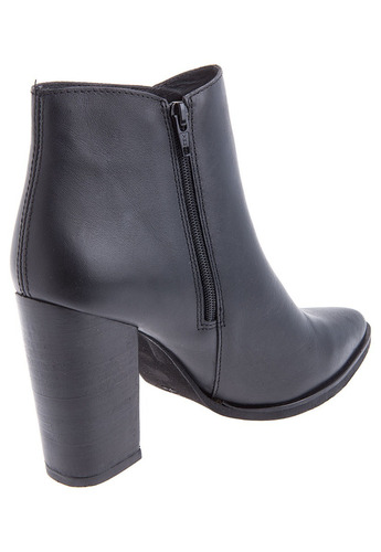 botines stivali malia cuero negro
