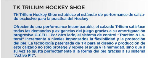 botines tartaneras hockey tk infantiles t5 junior niña niño