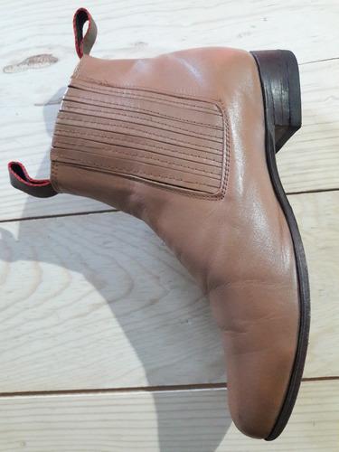 botines usados color cafe talla 27 en country hombre