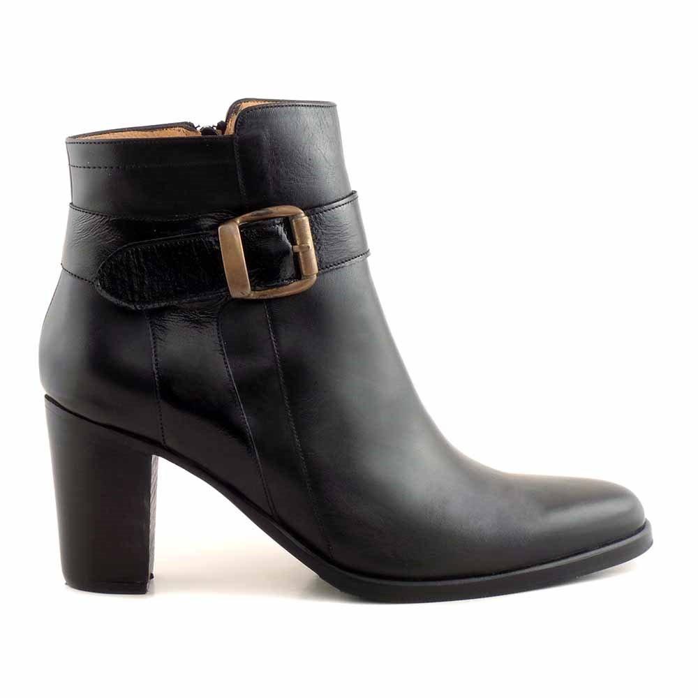 5cfc54752e0 botineta briganti cuero mujer bota hebilla suela - mcbo24827. Cargando zoom.